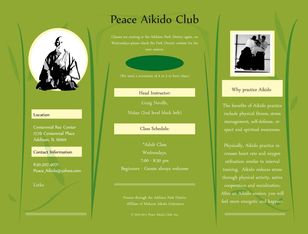 Welcome to Peace Aikido
